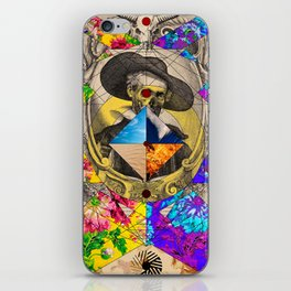 Cervantes is here iPhone Skin