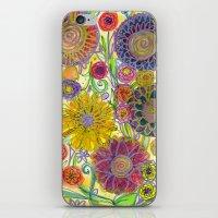 boho iPhone & iPod Skins featuring Boho by Sand Salt Moon