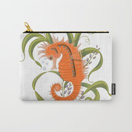 Under the sea baby seahorse-clear Carry-All Pouch