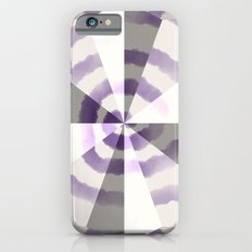 Lavender Geometric Pinwheel iPhone 6s Slim Case