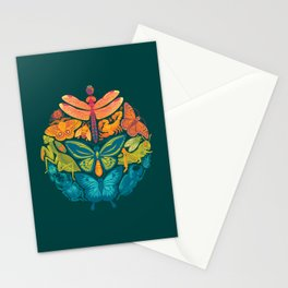 Bugs & Butterflies 2 Stationery Cards