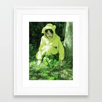 onesie Framed Art Prints featuring Onesie Wonder 2 by Dream Realm Photography and Art