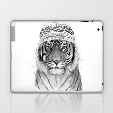 Siberian tiger (b&w) Laptop & iPad Skin