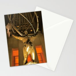 30Rock and Atlas Stationery Cards