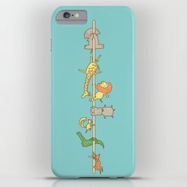 I love pole dancing iPhone Case