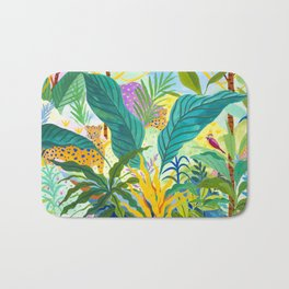 Paradise Jungle Bath Mat