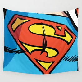 Classic Superman Wall Tapestry