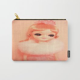 Pretty Pink Pose Doll Carry-All Pouch