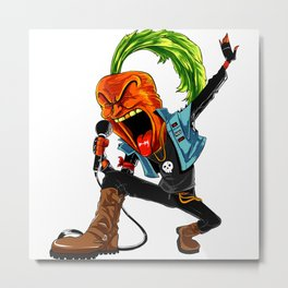 Carrot Frontman Of Vegan Band Metal Print