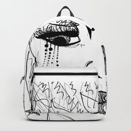 Seeing Thru The Bullshit GRRRL Backpack