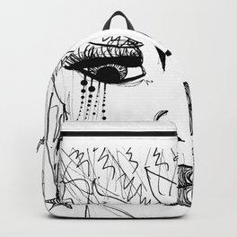 Seeing Thru The Bullshit GRRRL Backpack