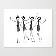 Party Canvas Print