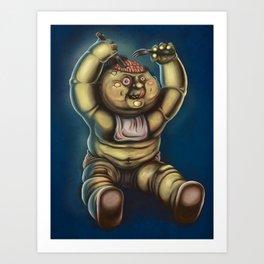 Tubby Zombie Art Print