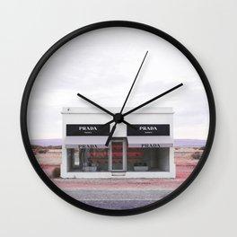 Pink Marfa Wall Clock