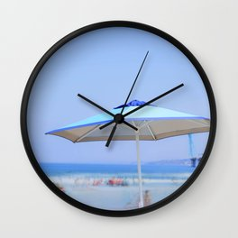 Summer's Umbrella Wall Clock