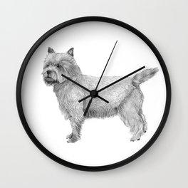 Cairn terrier Wall Clock