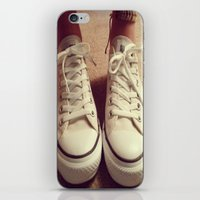 converse iPhone & iPod Skins featuring Converse by M O L L Y J A N E