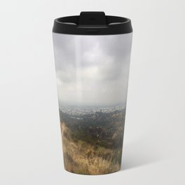 The Wildness of Nature over Los Angeles Travel Mug