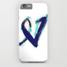 Paintbrush Heart iPhone 6s Slim Case