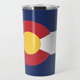 Colorado Flag Travel Mug
