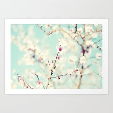 Spring. Art Print