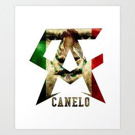 CANELO ALVAREZ SHIRT Art Print