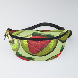 KIWI AND STRAWBERRY COCKTAIL Fanny Pack