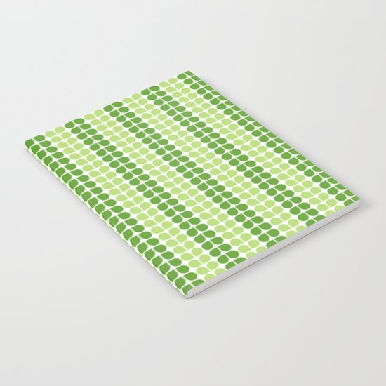 Pattern green green  Notebook