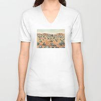 battlefield V-neck T-shirts featuring The Battlefield. by Jera Sky