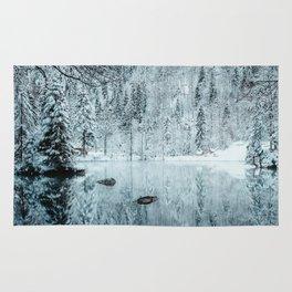 Swiss winter #society6 #decor #buyart Rug