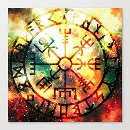 Norse compass Canvas Print