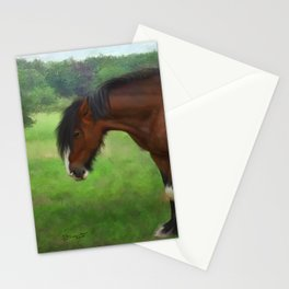 Shire Horse Mare Stationery Cards