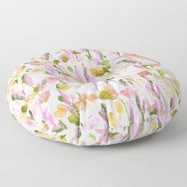 Resolve Pink Green Floor Pillow