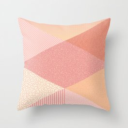 SUNSET PALETTE Throw Pillow