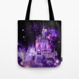 Enchanted Castle Purple Pink Tote Bag