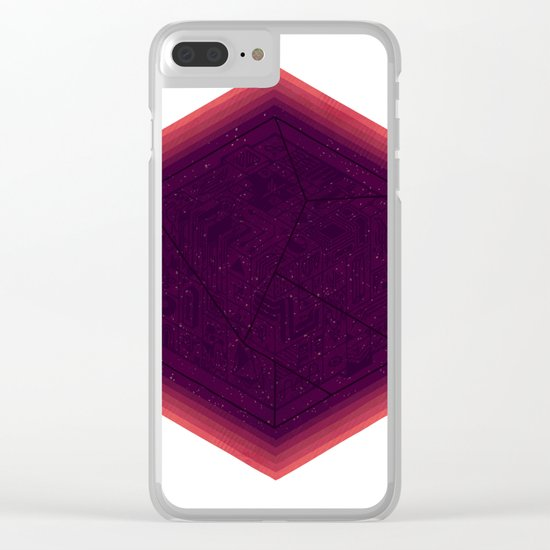 Sideral Secret Clear iPhone Case