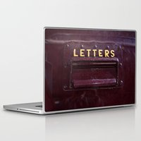 letters Laptop & iPad Skins featuring Letters by lenomadecom