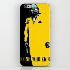 Breaking Bad Knocking iPhone & iPod Skin