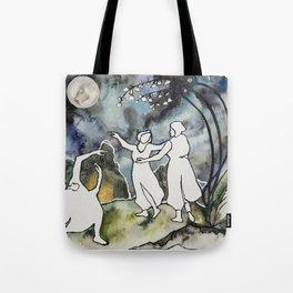 Moon Dance Tote Bag