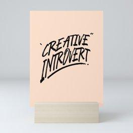 The Creative Introvert Mini Art Print