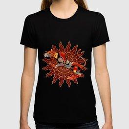 Red Lion Batik T-shirt