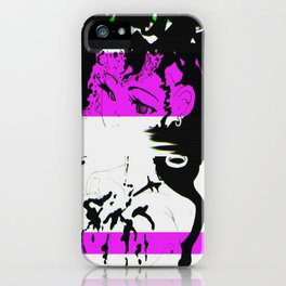 Thirsty Artist iPhone Case