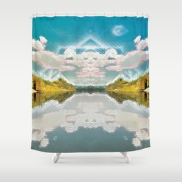 Invierno Is Here Shower Curtain