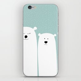 Polar people iPhone Skin