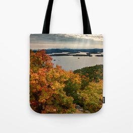Autumn colors in New Hampshire Tote Bag
