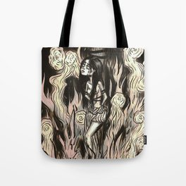 Burn the witch! Tote Bag