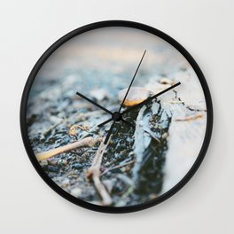 Nothing Left to Hold Wall Clock