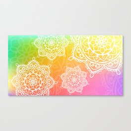 wotercolor mandala Canvas Print