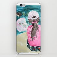 mermaids iPhone & iPod Skins featuring Mermaids by Condor