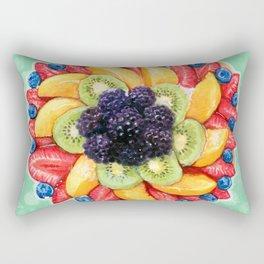 Fruit cake Rectangular Pillow